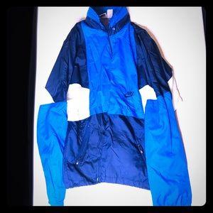 Nike windrunner windbreaker jacket blue men's